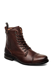 Fordham Leather Shoe - BROWN
