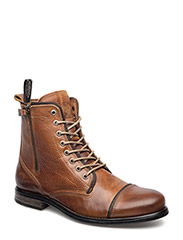 Fordham Leather Shoe - COGNAC TEXAS OIL