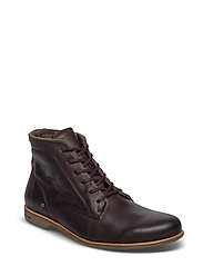 Scotter Leather Shoe - BROWN