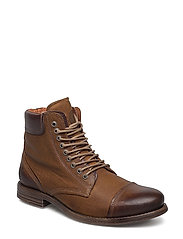 Doverlake Leather Shoe - COGNAC