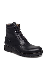 Slacker Leather Shoe - BLACK