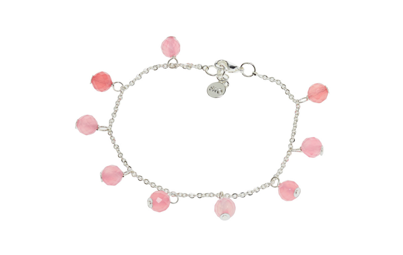 SNÖ of Sweden Rose small charm brace