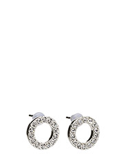 Spark small coin ring ear - CLEAR