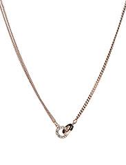 Blizz chain neck 42 - ROSé/CLEAR