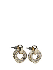 Story small ear - GOLD/CLEAR