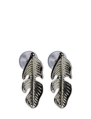Jonna small ear feather - PLAIN S