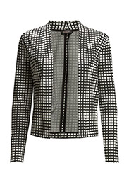 Coco Jacket - Creme with black checks