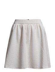 ZANDY SKIRT - Eggshell