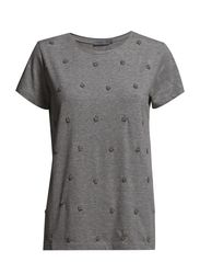 BLINGTEE - Dark grey Mel