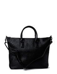 Plaited bag - black