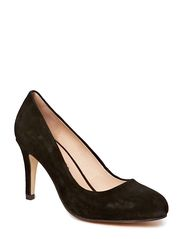 Suede pump - Black