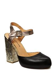 Sofie Schnoor Leather/snake skin pump