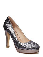 Glitter pump - shine silver - Shiny silver