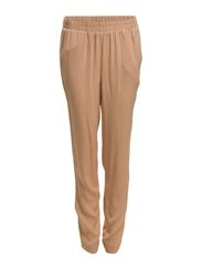loose pant - Nude w. Black