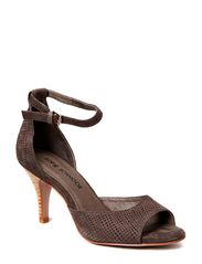 High heel sandal - grey