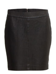 Leather skirt - BLK