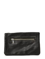 Leather purse - BLK