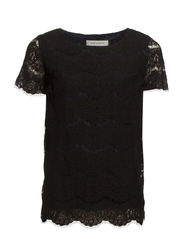 Lace Top - BLK