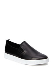 Sneaker leather - black