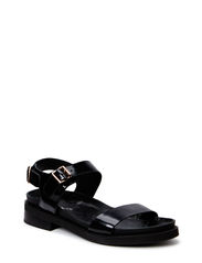 Sandal w. buckle - black