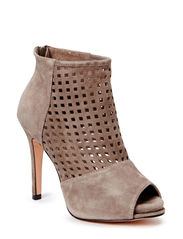 Sandal w. web front - taupe