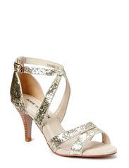Glitter sandal - champagne