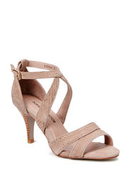 High heel sandal - taupe