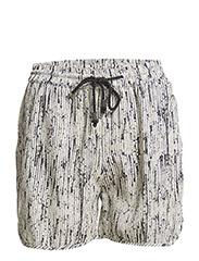 Shorts - Beige/BLK