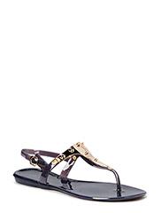 Rubber sandal - Black