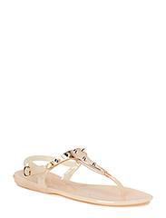 Rubber sandal - L Rose/BLK
