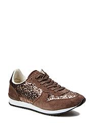 Sneaker w glitter - mud