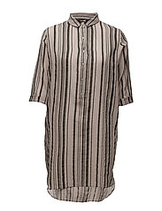 Tunic - GREY STRIPE