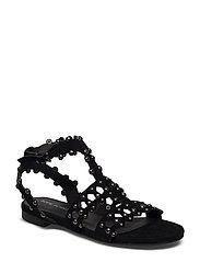 Sandal vith studs - BLACK