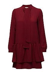 Dress - DARK RED