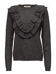 Blouse knit - GREY  MELANGE