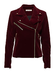 Jacket - DARK RED