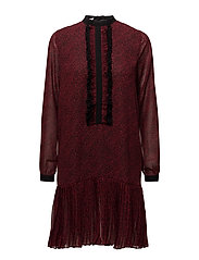 Dress - DARK RED