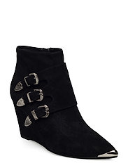 boot buckle - BLACK