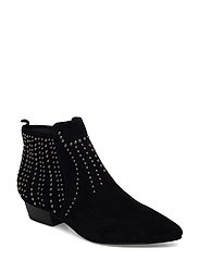 boot low rivet - BLACK