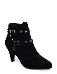 Boot suede - BLACK