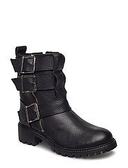 boot track w. lining - BLACK