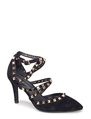shoe stiletto - BLACK