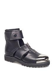 Shoe zipper - BLACK