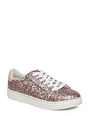 Shoe Sneaker glitter - ROSE GLITTER