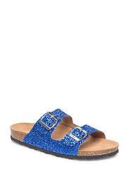 glitter sandal - BLUE