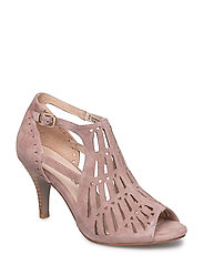 Shoe Stiletto cut out low - ROSE
