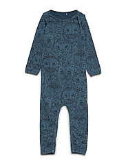 Ben Bodysuit - ORION BLUE, AOP OWL
