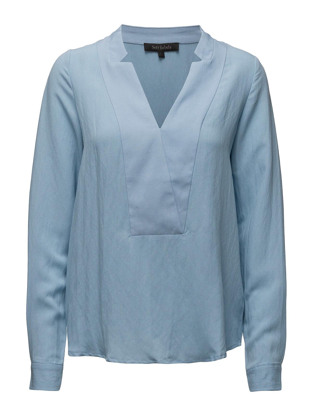 Lala Shirt Soft Rebels Bluser til Kvinder i