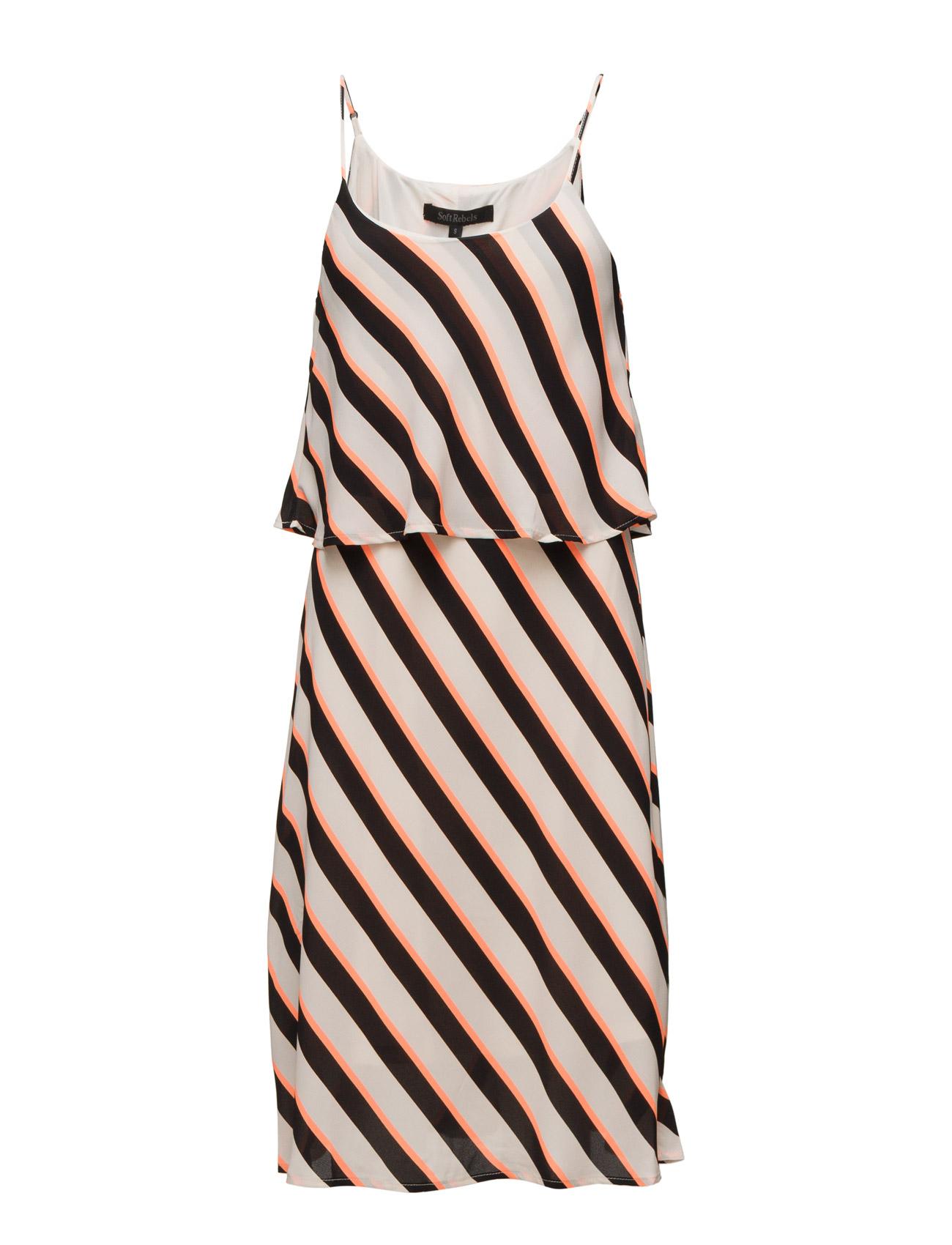 Winnie Dress Soft Rebels Knæ-længde & midi