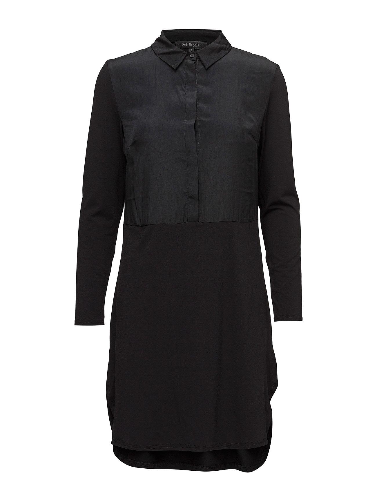 Wet Dress Soft Rebels Knælange & mellemlange til Damer i 001 Black